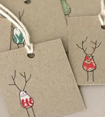 christmas fabric tags - Google Search