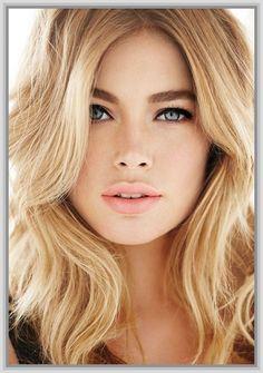 Something blonde hair green eyes girl does not
