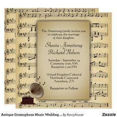 Antique Gramophone M