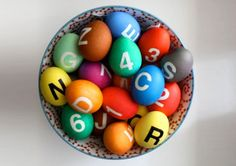 Colorful DIY Easter Eggs Pay Tribute to the NYC Subway System - Even the G Train