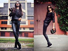 Hey baby I'm a rock star. (by Tina Sizonova) http://lookbook.nu/look/4101134-Hey-baby-I-m-a-RockStar