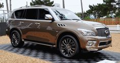 2015 INFINITI QX80 Limited Is Red-Carpet Glamour with Genius IQ – 150 Photo Debut