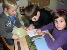 Marsepein maken voor de Sint # stage 2de leerjaar