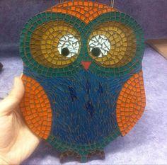 mozaik baykuş