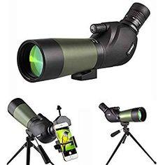 Hunting Supplies, Degree Angle, Phone Mount, Rifle Scope, Cool Tech, Bird Watching, Tripod, Telescope, Carry On