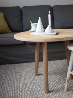 Lag selv, DIY rundt sofabord