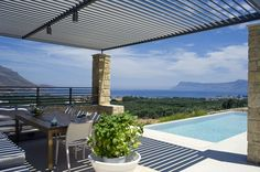 Luxury Villa Charisma in Crete - with infinity private pool, 2 bedrooms and sea view   Vacation Rentals in Crete