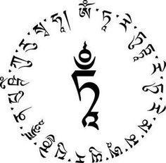Sanskrit Symbols Sandscript Tattoos Buddhist Symbols 0013