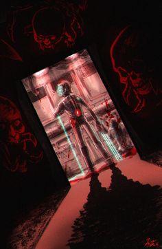 Horror Video Games, Dead Space, Dope Art, Little Star, Predator, Marker, Saga, Videogames, Cartoons