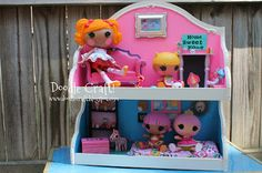 Doodle Craft...: LaLaLoopsy Dollhouse Upcycled Craft!