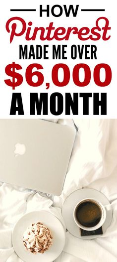 How she made Pinterest her full-time job is the best! I'm so happy I found this AWESOME post! How she was able to work from home and make $6k a year is incredible! I'm SO pinning for later!