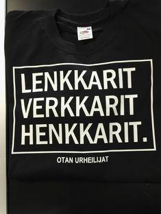 Näillä mennään eteenpäin. Sweatshirts, Sweaters, T Shirt, Tops, Women, Fashion, Tee, Moda, Women's