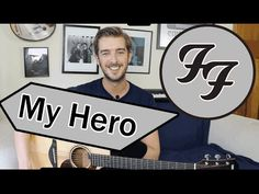 My Hero - Foo Fighters Guitar Lesson Tutorial - How to play - YouTube