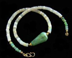 Peruvian Opal Australian Opal choker necklace gold vermeil minimalist jewelry simple bohemian natural stone PinkOwlJewelry #jewelrysimple