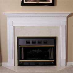 Glacier - Traditional Wood - Fireplace Mantel Surrounds - MantelsDirect.com