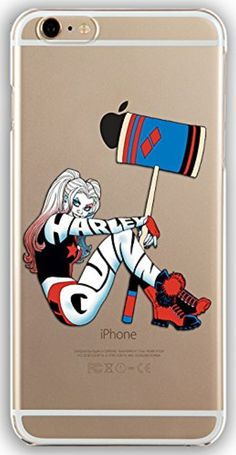 Silicone Gel Cover Case with Harley Quinn design for Iphone 7 (4.7in) (harl15s) -- Awesome products selected by Anna Churchill