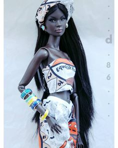 "@dorii_86_ on Instagram: ""Nadja #integritytoys #nadja #nadjarhymes #nuface"" Beautiful Black Babies, Beautiful Dolls, Black Baby Dolls, African American Dolls, Valley Of The Dolls, Black Barbie, Barbie Collection, 50 Shades, Sewing Tutorials"