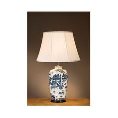 Blue Willow Pattern Traditional Lamp - Traditional blue and white patterned oriental vase lamp PLEASE NOTE: Shades are sold separately from base fittings to maximise choice options. Traditional Lamps, Willow Pattern, Light Table, White Patterns, Interior Lighting, Oriental, Table Lamp, Lounge, Blue And White