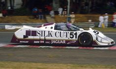 Jaguar XJR-6  It was Group 44's XJR-5 that took Jaguar back to Le Mans, but the XJR-6 was the first Group C Big Cat from Tom Walkinshaw Racing, which would go on to win the race twice. All three XJR-6s retired in 1986, but put up a decent performance against the Porsches.