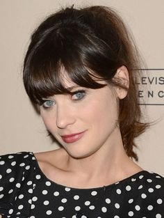 Zooey Deschanel  http://primped.ninemsn.com.au/blogs/celebeauty/zooey-deschanel#