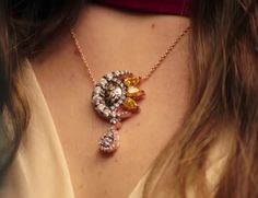 necklace sun and moon Mihrimah Sultan ♥