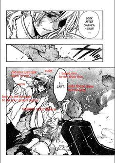 Another bad edit lol #fai d. flourite #sakura #syaoran #tsubasa reservoir chronicle #trc spoilers