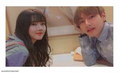Taehyung and Yerin if they would have been on a date together - - Two crazy people looking with calm faces and incredible visuals in a… Blackpink And Bts, Bts Imagine, Ulzzang Couple, G Friend, K Idol, My Youth, Imagines, Kpop Aesthetic, Crazy People