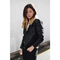 Black Quilted Collarless Lambskin Leather Jacket - Rogue | by VIPARO