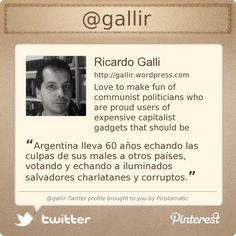 @gallir's Twitter profile courtesy of @Pinstamatic (http://pinstamatic.com)