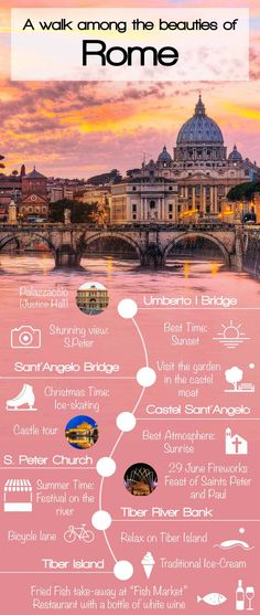 Our journey of discovery through the beauties of Italian peninsula begin with a pleasant walk among the monuments of the Eternal City