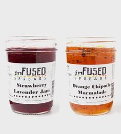 Assorted Gourmet Jams – Set of 2 by Infused Spreads  on Scoutmob Shoppe