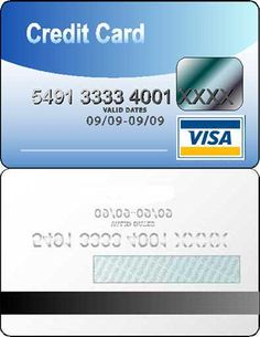 Blank Printable Diva Credit Card Invitations Coolest Free - Blank visa credit card template
