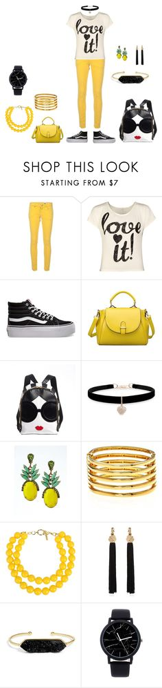 """""""Tropical"""" by kingcobra2323 ❤ liked on Polyvore featuring M Missoni, WearAll, Vans, Betsey Johnson, Banana Republic, Kenneth Jay Lane, Moschino, Yves Saint Laurent and BaubleBar"""
