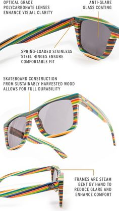 88c98e7852b18 betabrand and bosky Wood-Frame Polarized Sunglasses Wooden Sunglasses