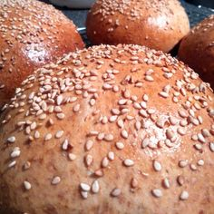 The best #burger #buns are the #homemade one's!  By Beenie Cakes -Sabine van Biene-