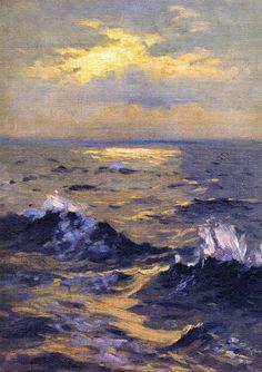The Athenaeum - Seascape (John Singer Sargent - )                              …