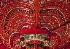 Theyyam headdress