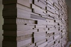 Another beautiful modern timber feature wall from Stack Panel Australia.