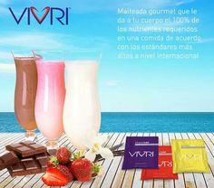 Shake me! Disponible en sabores fresa, chocolate y vainilla  www.vivri.com/analuisa