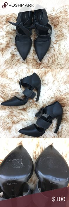Proenza Schouler killer heels size 37 Gorgeous Proenza Schouler 4-inch killer heels black in 37. Fits true to size. Adorable bow front detail. Never worn outside. Proenza Schouler Shoes Heels