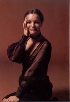 Portrait of Romy Schneider by Eva Sereny, 1972