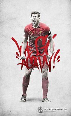 Liverpool FC Steven Gerrard We Go Again