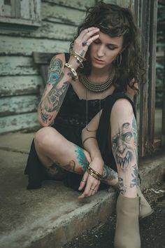 Brunswick laneways Tattoo Girls, Girl Tattoos, Poses, Sleeve Tattoos, Ink, Photography, Tatoo, Templates, Tatuajes