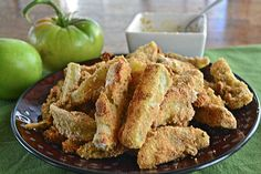Baked Green Tomato Fries | Make the Best of Everything