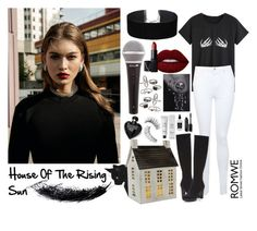 """""""463->""""House of The Rising Sun"""" by Lauren O'Connell"""" by dimibra ❤ liked on Polyvore featuring Miss Selfridge, Donald J Pliner, Mudd, Lime Crime, NARS Cosmetics, Lipsy, Trish McEvoy, Baxter of California, Little Barn Apothecary and Bobbi Brown Cosmetics"""