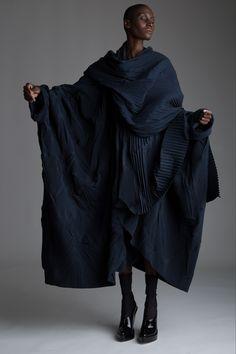 Vintage Romeo Gigli Coat. Designer Clothing Dark Minimal Street Style Fashion