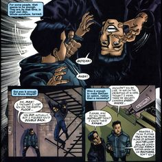 Dick and Tim are the most adorable brothers ever. Bored at Wayne Enterprises while Bruce is busy? Play acrobat tag in the service staircase! (Gotham Knights #8)