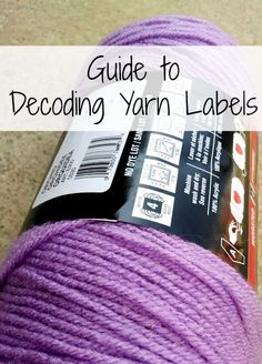 This post was written by Jennifer Dickerson from theFiber Flux blog.                Have you ever wondered what all of the information on yarn labels means? It can be confusing, but it contains a surprisingly large amount of important