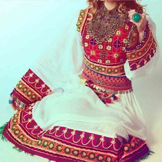 fancy afghan dresses pathani frock style dress designs 2017