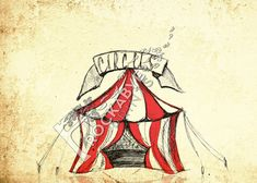 circus tent drawing - Google Search